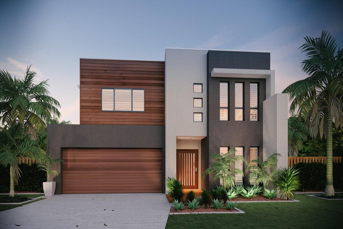 Brick Garage Designs The Allure 33 Palladio Homes